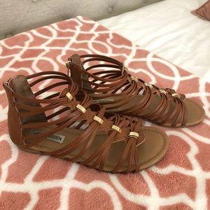 Steve Madden Brown Gladiator sandals